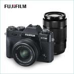 FUJIFILM ミラーレス一眼カメラ X-T30ダブルズームレンズキット ブラック X-T30WZLK-B