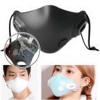 韓国とアメリカで爆発的人気 シリコンマスク フィルター付 エアバブル フィルターマスク 抗菌シリコン 空気清浄機マスク 空気清浄 マスク