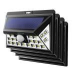 防災グッズ ライト 4個セット改良版 peaceup 46LED センサーライト