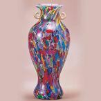 ガラス 花瓶 花器 フラワーベース  一輪挿し 津軽びいどろ 大川薫工房 ねぶたまつりミニ花瓶