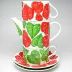カップ&ソーサー ティーカップ コーヒーカップティーポット イタリア TAITU ゴッツィエ Tea For Two