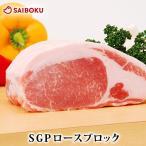 お中元 2020 ギフト 肉 SGP ロース ブロック 500g 内祝い 贈り物 贈答品 プレゼント お礼 お取り寄せグルメ 人気