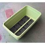 プランター 鉢 深型 野菜が作れる 深底プランター 710型 (緑色)