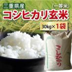 令和2年産 新米 三重県産コシヒカリ こしひかり 玄米1等米 30kg  お米 30キロ