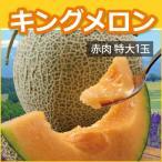 北海道キングメロン(特大1玉) 赤肉 2kg×1玉(優規格以上) ギフト お中元