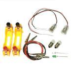 豆電球 LED 基本実験セット 単3電池ボックス2個付