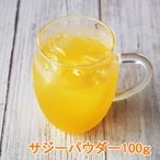 サジーパウダー100g  果汁パウダー ステビア入り 粉末ジュース サジーフルーツ粉末