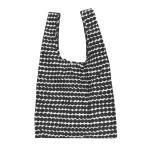 マリメッコ エコバッグ marimekko ラシィマット スマートバッグ 048855 190 ブラック/ホワイト