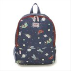 キャスキッドソン Cath Kidston リュックサック Kids Mesh Pocket Padded 768344 True Navy Bears in Space