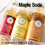 メープルソーダ メープル ソーダ アップル ジンジャー レモン 秩父特産
