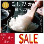 米 お米 20kg  コシヒカリ白米20kg(5kgx4袋)  令和2年度福島県産 特価