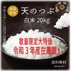 Yahoo!米屋太三郎お米20kg 天のつぶ白米20kg 30年福島県産 セール