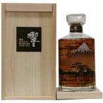 サントリーウイスキー響21年意匠ボトル〈富士風雲図〉
