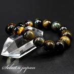 ブルータイガーアイ 12mm ブレスレット メンズ パワーストーン 天然石 ホークスアイ 数珠