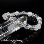 팔찌 - 「白雪」 パワーストーン ブレスレット レディース 天然石 数珠