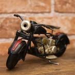 ヴィンテージカー ブリキおもちゃ バイク ハーレー 人気 オブジェ  模型 おもちゃ 世田谷ベース ガレージグッズ/Old Bike(BK/RD)