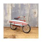ブリキおもちゃ 自転車 アンティーク アメリカ雑貨 ガレージグッズ 置物 オブジェ 店舗 オールドアメリカングッドオールド[Surf Bicycle]