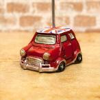 カードスタンド ミニクーパー UK イギリス アメリカン雑貨 オールディーズ[UK クーパー] RED