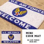 玄関マット コイヤーマット アメリカ雑貨 ミリタリー 空軍 エアフォース 世田谷ベース /US AIR FORCE