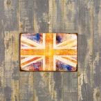 ブリキ看板 ユニオンジャック 国旗 イギリス国旗 人気 サインプレー...--756