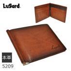 マネークリップ 財布 メンズ 二つ折り財布 小銭入れあり 革 レザー Lugard G3