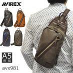 ボディバッグ メンズ ワンショルダー 人気 ブランド AVIREX アヴィレックス ラルガ