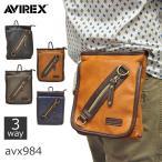 ミニポーチ ウエストバッグ 3wayポーチ ヒップバッグ メンズ ショルダーバッグ 人気 ブランド AVIREX アヴィレックス ラルガ