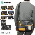 ショッピングビアンキ Bianchi ビアンキ NBTCシリーズ メッセンジャーバッグ メンズ レディース 男女兼用 iPAD タブレット収納 ショルダーバッグ 斜めがけ B5