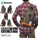 ボディバッグ Bianchi ビアンキ NBTCシリーズ メンズ レディース 男女兼用 iPAD タブレット ワンショルダー 斜めがけ 撥水 軽量 スマホ 貴重品