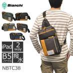 Bianchi ビアンキ ボディバッグ NBTCシリーズ メンズ レディース 男女兼用 3wayバッグ iPAD タブレット ワンショルダー 斜めがけ 撥水 軽量 スマホ