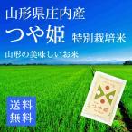 【28年産米】つや姫 白米10kg 特別栽培米  山形県庄内 (5kg小分け×2)