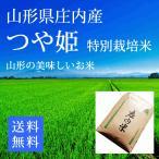 【30年産米】つや姫 玄米24kg 特別栽培米  山形県庄内