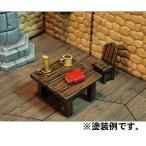 アクセサリーセットF 〜デスクセット〜 :オーロラモデル 未塗装キット O(1/48)〜1/35 Kt-020