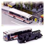 バスコレ走行システム 基本セットB3(西日本鉄道仕様) ボタン電池付き :トミーテック 塗装済完成品 N(1/150) 250173