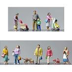 ザ・人間106 住宅街の人々 :トミーテック 塗装済完成品 N(1/150) 265870