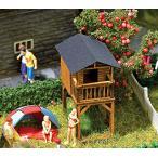 遊具の小屋 :ブッシュ キット HO(1/87) 1486