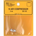 エアコンプレッサー :マイクロエンジニアリング 未塗装キット N(1/160) 80143