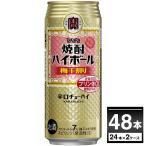 宝酒造 焼酎ハイボール 梅干割り 500ml×48本(2ケース)【送料無料※一部地域は除く】
