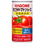 カゴメ トマトジュース 食塩無添加 缶 190g/30缶 1ケース