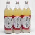 3本セット 篠崎 国菊 発芽玄米甘酒(はつがげんまいあまざけ)ノンアルコール 720ml(福岡県)