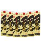 送料無料 黒伊佐錦 芋焼酎 25度 1800mlパック 1ケース(6本)(※東北は別途送料必要)