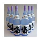 【1個口・常温便・包装不可】海(うみ umi) 1800mlx6本・大海酒造 芋焼酎 25度