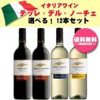 イタリアワイン テッレ・デル・ノーチェ 3本ずつ選べる12本セット (送料無料)