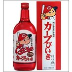 25度 カープびいき 720ml瓶 本格芋焼酎 中国醸造 広島県 化粧箱入