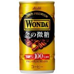 [飲料]3ケースまで同梱可★WONDA(ワンダ)NEW☆金の微糖 185g(190g缶) 1ケース×30本入り