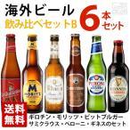 海外ビール飲み比べ6本セットB 6種類 飲み比べ 送料無料