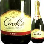クックス ブリュット 750ml スパークリングワイン アメリカ