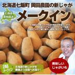 北海道産 じゃがいも メークイン 10kg (M〜2Lサイズ)/ 岡田農園 送料無料