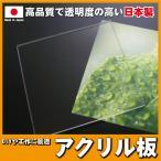 アクリル板 透明2mm 100mm×100mm 国
