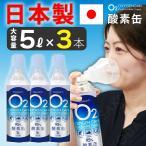 酸素缶 日本製 【3本セット】 5L 東亜産業 濃縮酸素 家庭用 携帯酸素スプレー 酸素ボンベ 高濃度酸素 携帯 酸素吸入器 携帯酸素缶 登山 IT WEB限定